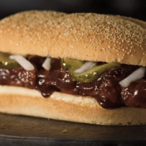the marginal utility of the McRib
