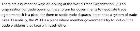 banana wars and WTO