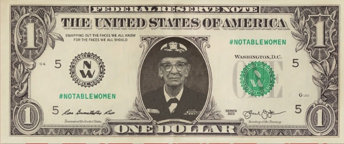 female currency images Grace Hopper