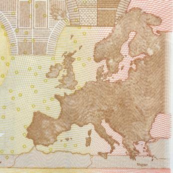 euro zone map