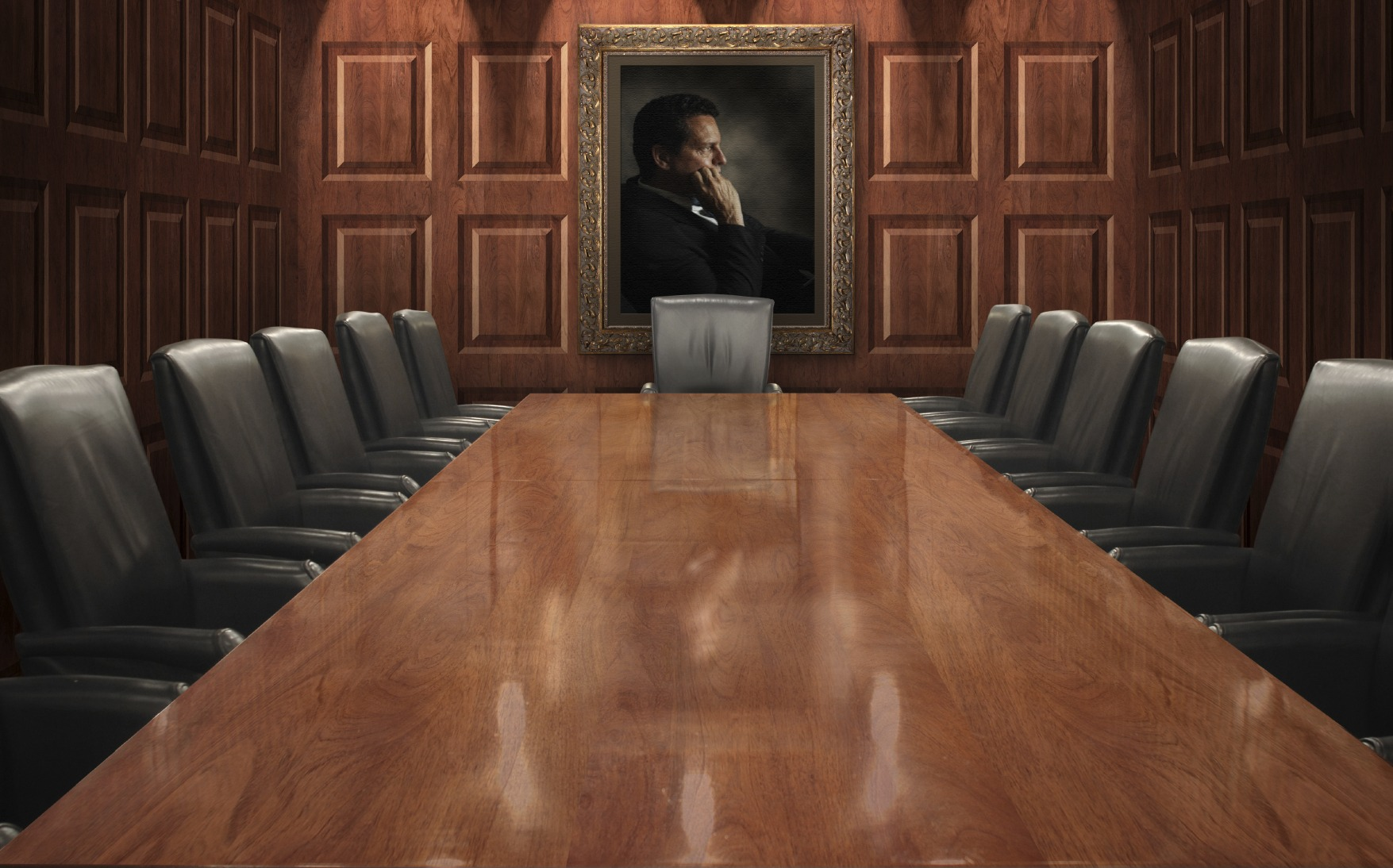 The Corporate Boardroom Has a Glass Ceiling