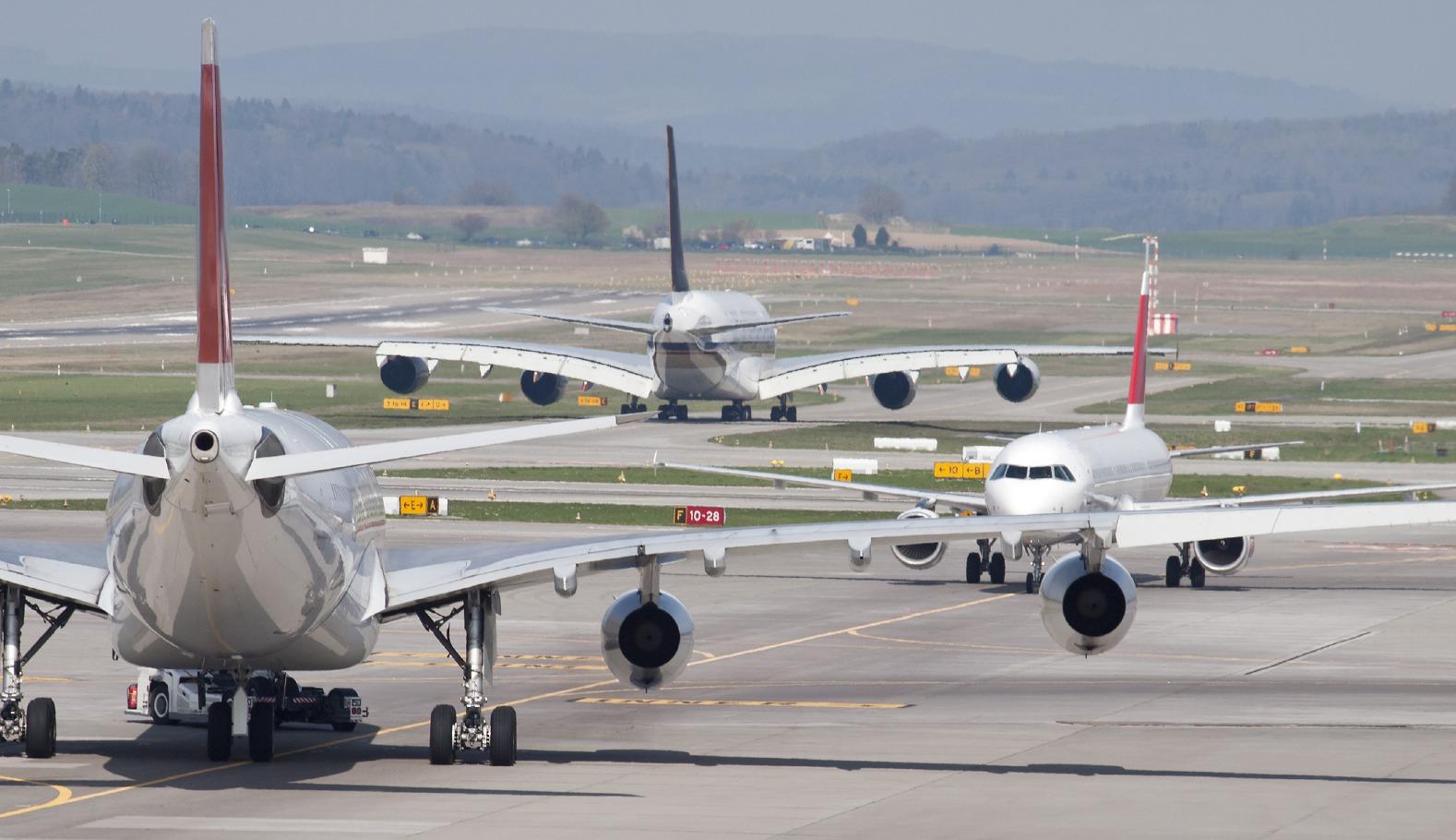 boarding planes
