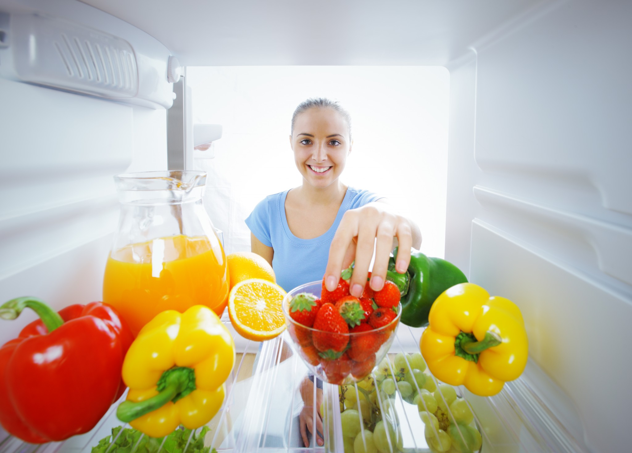 Everyday Economics: The Contents of Refrigerators, Supply and Demand, and Global Markets