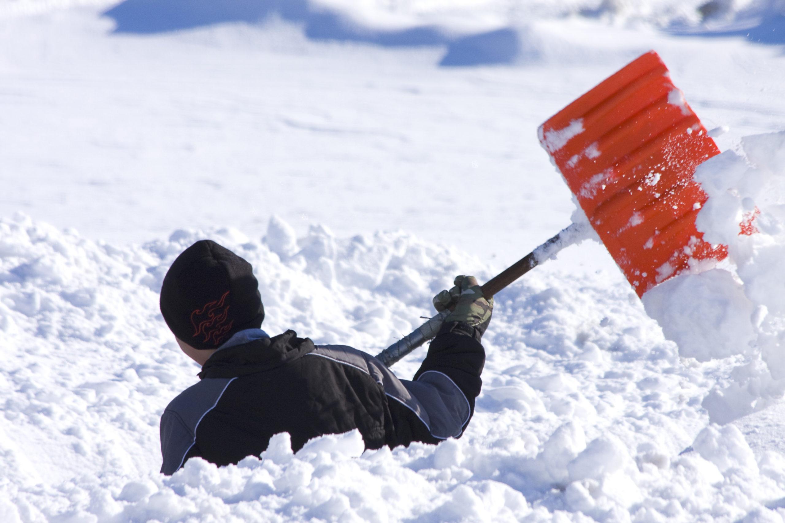 Economic News Roundup and snow shoveling markets