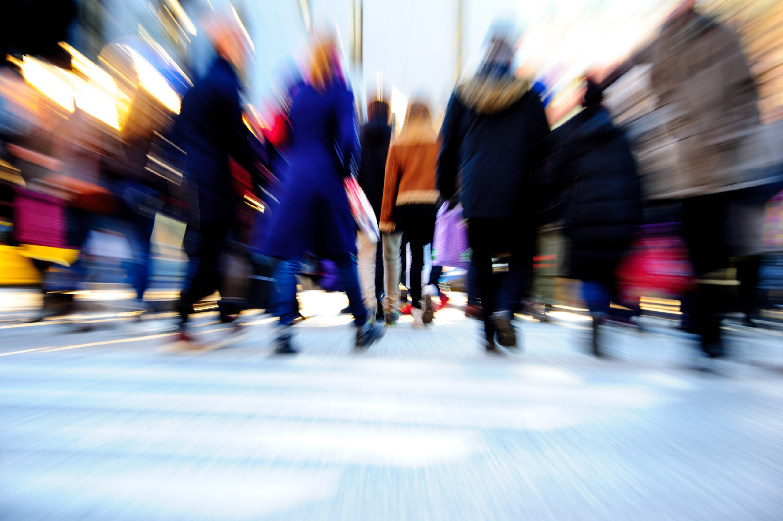 productivity and walking speeds