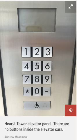 Elevator wait time and efficiency