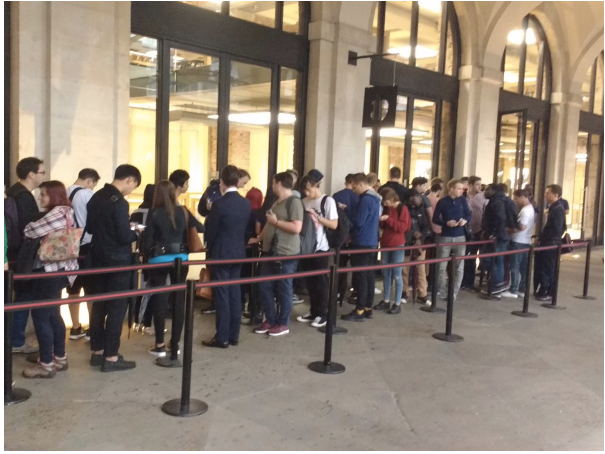 iPhone 7 lines