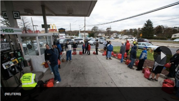 price gouging laws in NJ and gas lines