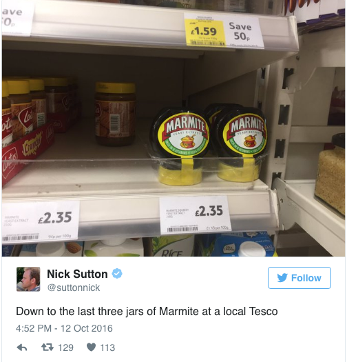 The Bexit scare from Unilever price hikes