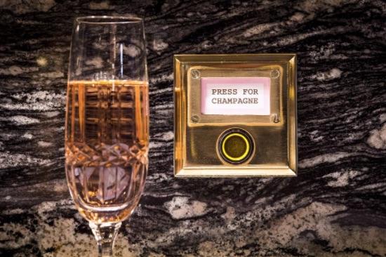 Weekly economic news roundup and Bob Bob Ricard champagne button
