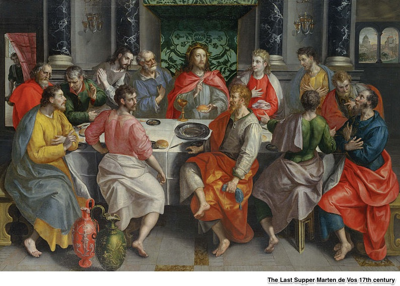 The Last Supper portion size