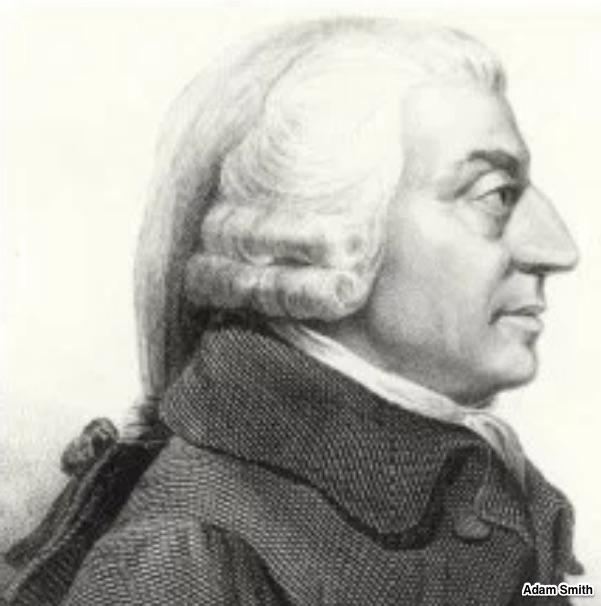 Adam Smith laissez-faire