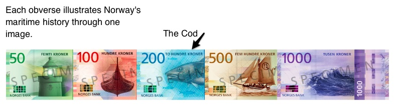 Norway's new banknotes