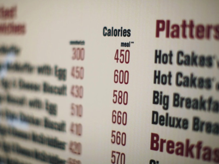 Weekly Economic News Roundup and Mandatory calorie labels