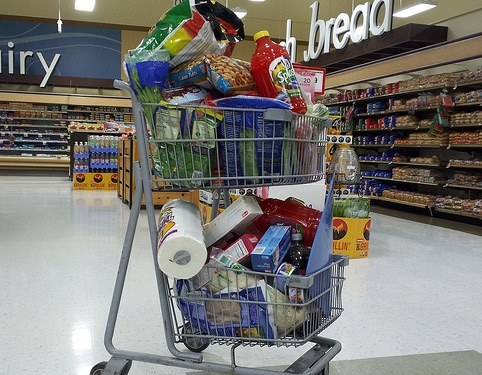 Weekly Economic News Roundup and Supermarket shopping