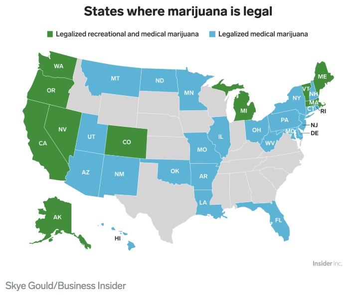 marijuana's financial services