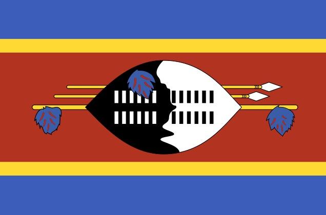 Weekly Economic News Roundup and branding Eswatini flag