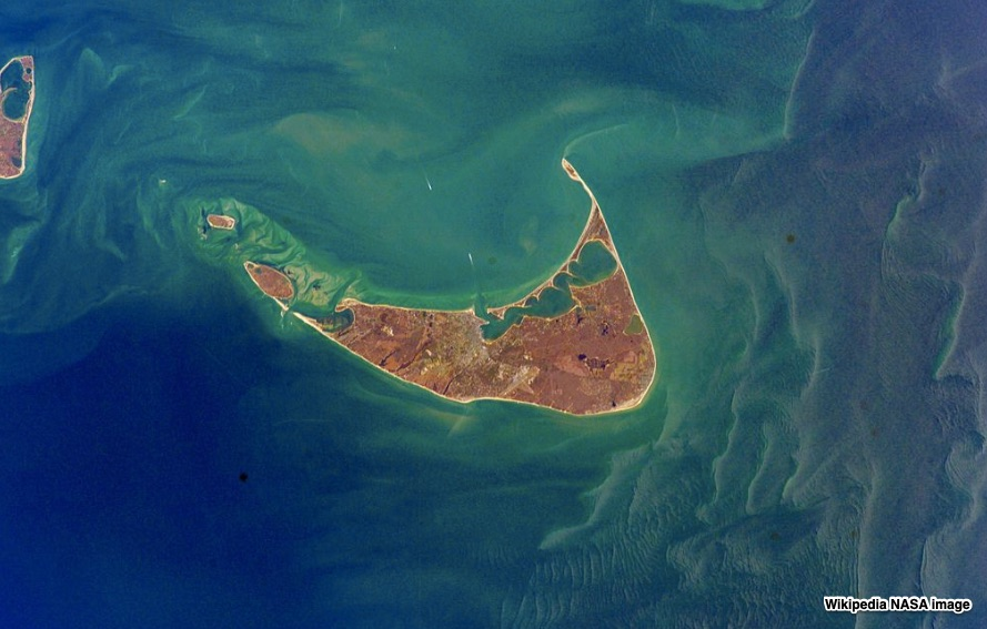 Nantucket satellite image