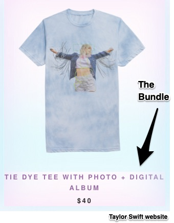 album bundles and demand