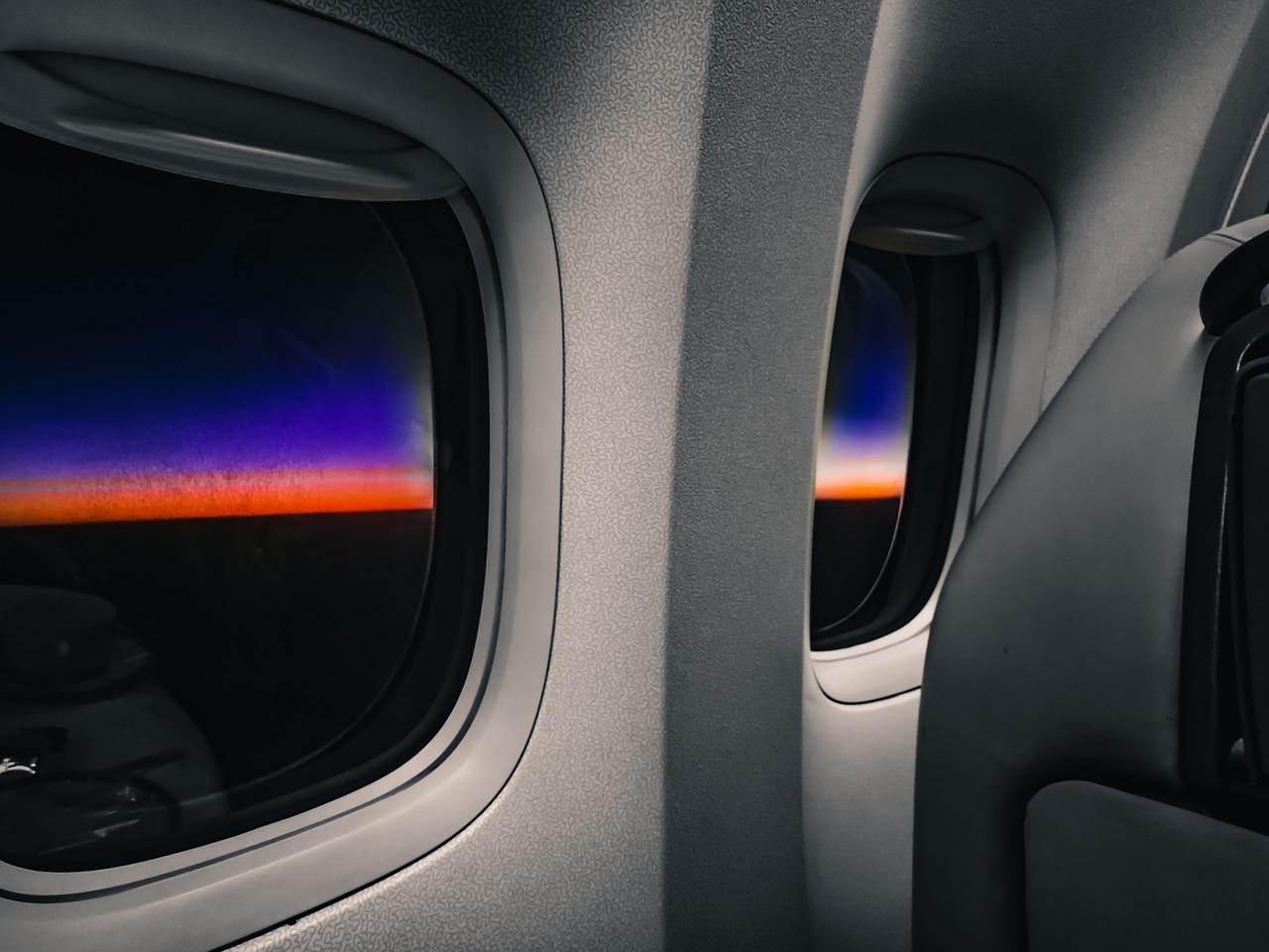 airplane window shade