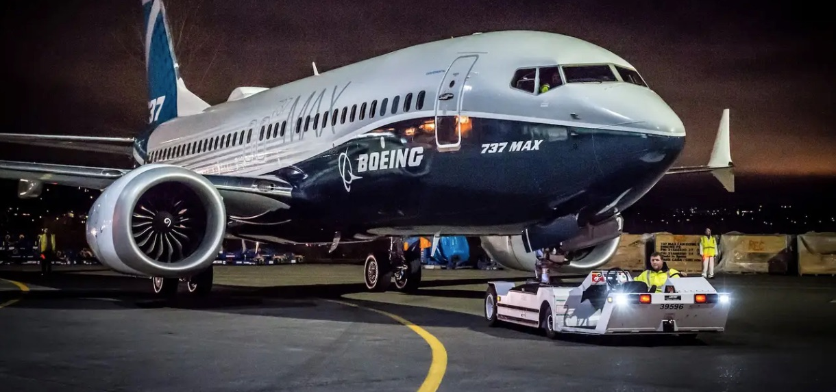Boeing 737 MAX supply chains