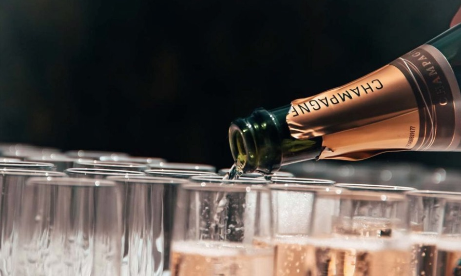 economic news roundup and Champagne sales