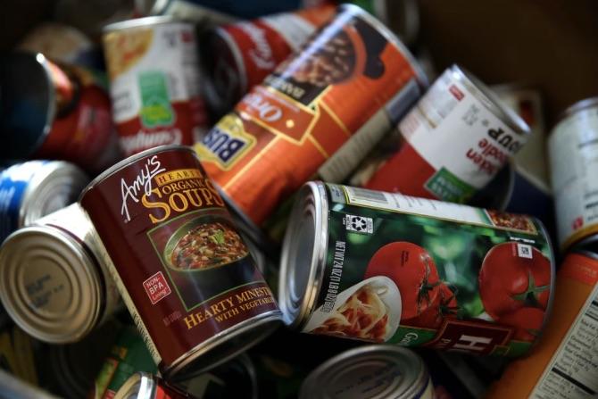 distributing food to food banks