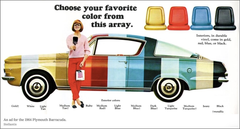 Weekly Economic News Roundup and choosing car colors