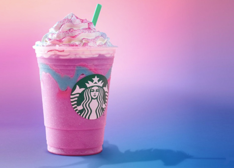 limited editions and Starbucks Unicorn Frappuccino
